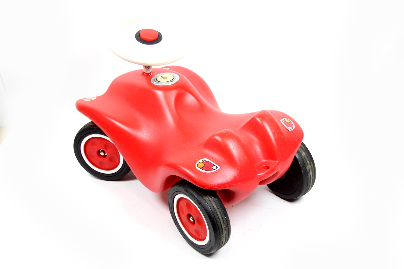 big bobby car kinderfahrzeug rot kinderrutscher kinderauto. Black Bedroom Furniture Sets. Home Design Ideas